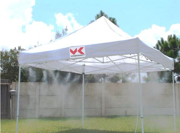 misting tent2 & Keep Cool In Our Misting Tent u2013 VAGKRAFT